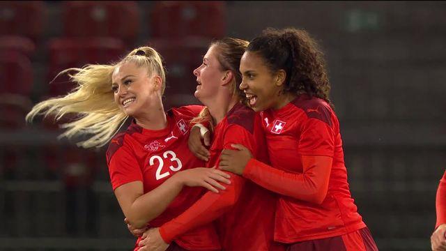 Suisse - Croatie (5-0): les Suissesses cartonnent et poursuivent leur sans-faute [RTS]