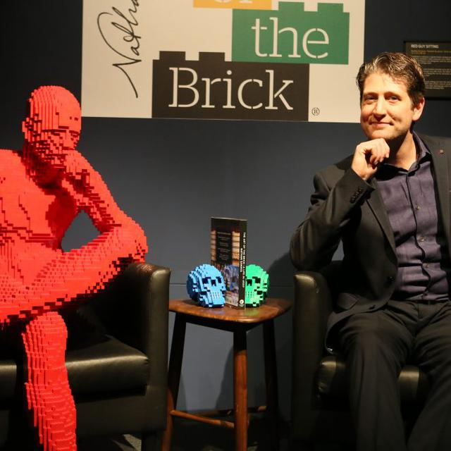 """Nathan Sawaya et son exposition """"The Art of the Brick"""". [Palexpo]"""