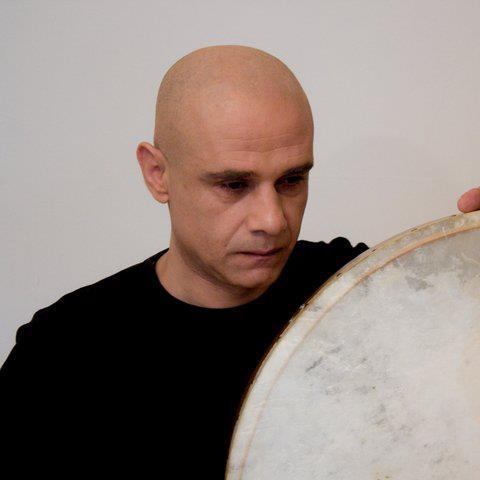 Le percussionniste palestinien Youssef Hbeisch. [facebook.com/youssef.hbeisch]