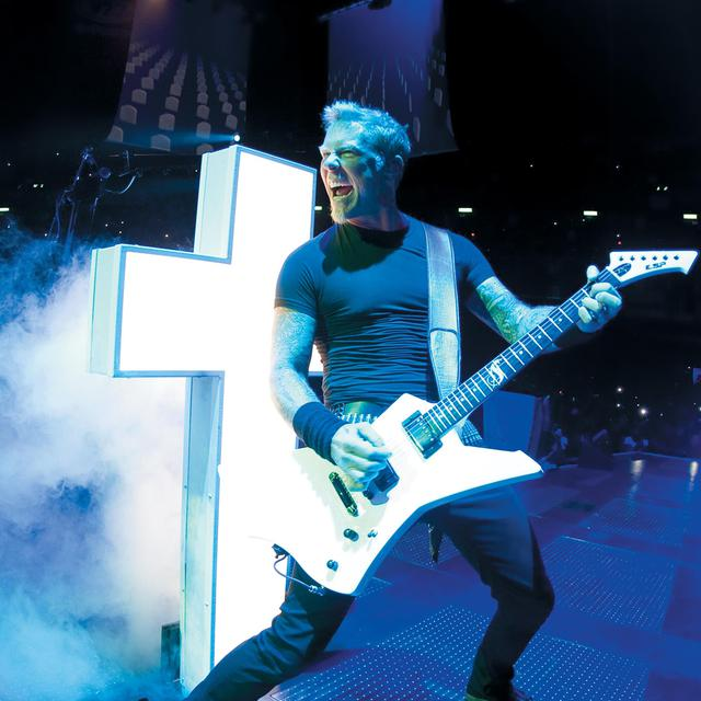 """Metallica (""""Through The Never""""). [Picturehouse Entertainment/The Kobal Collection/AFP]"""