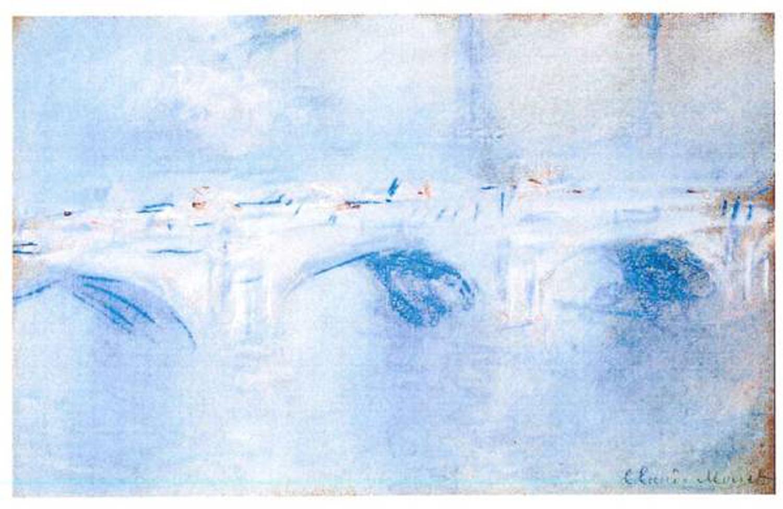 """Waterloo Bridge, London"", de Claude Monet. [Police Rotterdam]"